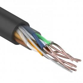 Витая пара, UTP-кабель UTP 4PR 24AWG CAT5e 305м OUTDOOR REXANT
