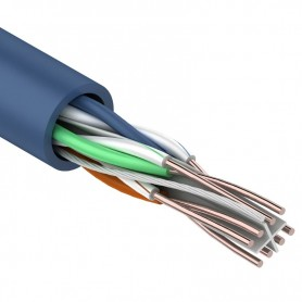 Витая пара, UTP-кабель UTP 4PR 23AWG, CAT6  REXANT