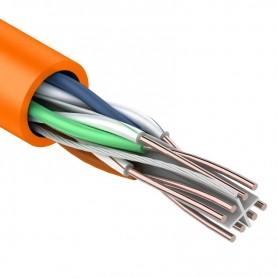 Витая пара, UTP-кабель UTP 4PR 23AWG, CAT6 нг(А)-HF REXANT