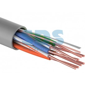 Кабель UTP PROconnect 4PR 24AWG, CU (медь), CAT5E, 100 МГц, PVC, серый, бухта 25 м
