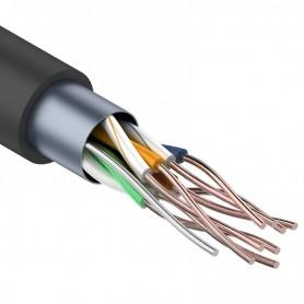 Витая пара, FTP-кабель FTP 4PR 24AWG, CCA, CAT5e, наружный (OUTDOOR)  PROconnect LIGHT