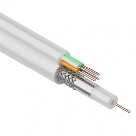 ККСВ-В + 4х0.5 мм., 100м., белый  REXANT