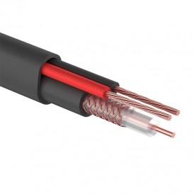 Кабель КВК-П-2 +2x0,50 мм² (Cu/Cu) черный (бухта 200 м) PROconnect