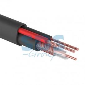 КВК 2 + 2х0,5 , черный,  200м PROconnect