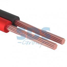 Кабель акустический REXANT 2х0,35 мм², красно-черный, мини-бухта 5 м