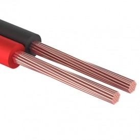 Кабель акустический REXANT 2х0,35 мм², красно-черный, мини-бухта 10 м