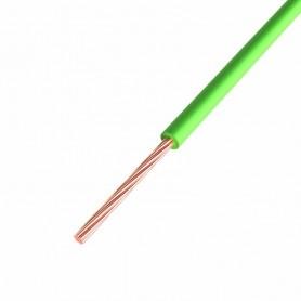 Провод ПГВА REXANT 1х0.75 мм², Cu, зеленый, бухта 200 м