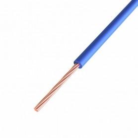 Провод ПГВА REXANT 1х0.50 мм², Cu, синий, бухта 500 м