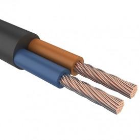 Провод соединительный ПВС 2х1,5 мм² 150 м белый ГОСТ 7399-97