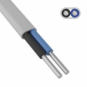 Провод алюминиевый АПБВВ 2x4,0 мм² 200 м ГОСТ 26445-85, ТУ 3551-021-38229892-2017