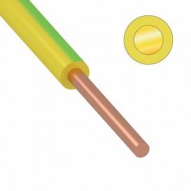 Провод ПуВ (ПВ-1) 1 мм² 500 м ж/з ГОСТ 31947-2012,ТУ 16-705. 501-2010