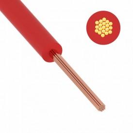 Провод ПуГВ (ПВ-3) 1,5 мм² 500 м красный ГОСТ 31947-2012,ТУ 16-705. 501-2010