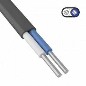 Кабель силовой алюминиевый АВВГ-П 2x4,0 мм² 200 м, ГОСТ 31996-2012, ТУ 16-705.499-2010