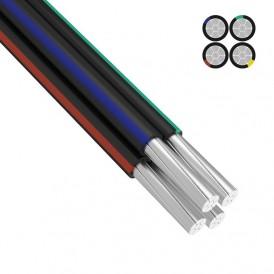 Провод СИП-4 4x16,0 мм², длина  25 метров, ГОСТ  REXANT