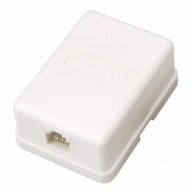PROconnect Рoзетка телефонная внешняя, 1 порт RJ-11(6P-2C), категория 3, (50 шт/уп)