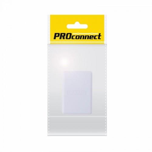 PROconnect Рoзетка телефонная внешняя, 1 порт RJ-11(6P-4C), категория 3, пакет, 1шт.