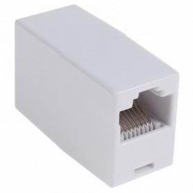 PROconnect Проходной адаптер, RJ-45(8P-8C), UTP неэкранированный, категория 5e, (гнездо-гнездо)