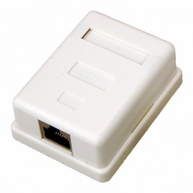 Rexant Рoзетка компьютерная внешняя, 1-порт RJ-45 (8P8C), FTP экранированная, категория 5e