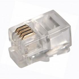 Джек телефонный 4P4C ProConnect 05-1001-3