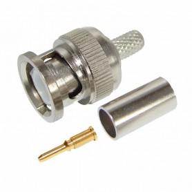 Разъем штекер BNC RG-6 обжим Rexant 05-3003