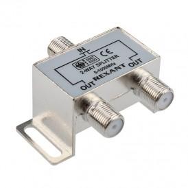 ДЕЛИТЕЛЬ  ТВ  х 2 под F разъём 5-1000 МГц | 05-6001 | REXANT