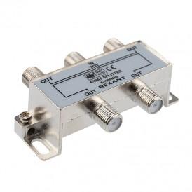 ДЕЛИТЕЛЬ  ТВ  х 4 под F разъём 5-1000 МГц   05-6003   REXANT