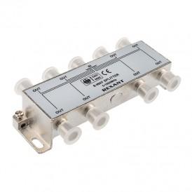 ДЕЛИТЕЛЬ  ТВ х 8 под F разъём 5-1000 МГц   05-6005   REXANT