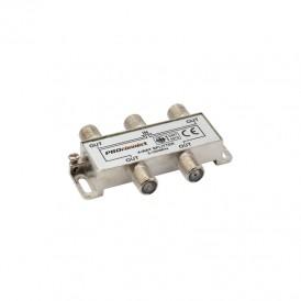 ДЕЛИТЕЛЬ  ТВ  х 4 под F разъём 5-1000 МГц | 05-6023 | PROconnect