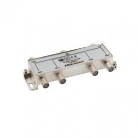 ДЕЛИТЕЛЬ  ТВ  х 6 под F разъём 5-1000 МГц | 05-6024 | PROconnect