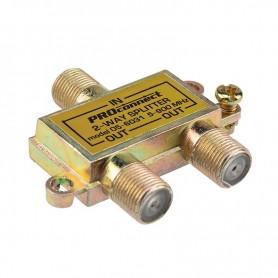 ДЕЛИТЕЛЬ  ТВ  х 2 под F разъём  5-900 МГц   05-6031   PROconnect