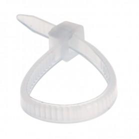 Стяжка нейлоновая 100x2,5 мм, белая (упак. 500 шт.) REXANT