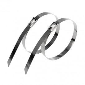 Хомут-стяжка стальная REXANT 100x4,6 мм, упаковка 50 шт.