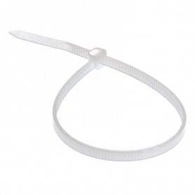 Хомут nylon 4.0х200 мм 100 шт Rexant 07-0200 белый