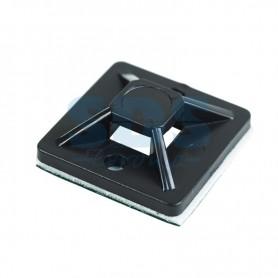Площадка самоклеящаяся REXANT 20х20 мм, черная, упаковка 10 шт.
