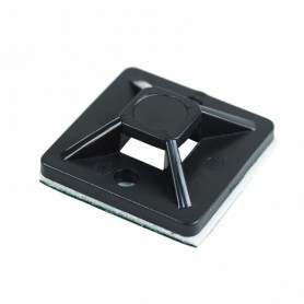 Площадка самоклеящаяся REXANT 20х20 мм, черная, упаковка 100 шт.