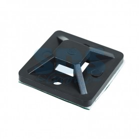 Площадка самоклеящаяся REXANT 25х25 мм, черная, упаковка 10 шт.