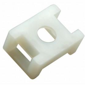 Площадка для крепления стяжки REXANT (ПС-2) 22x16 мм, белая, упаковка 100 шт.