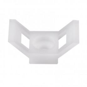 Площадка для крепления стяжки REXANT (ПС-2) 29x15 мм, белая, упаковка 100 шт.