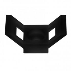 Площадка для крепления стяжки REXANT (ПС-2) 29x15 мм, черная, упаковка 100 шт.
