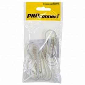 Дюбель-хомут PROconnect 19-25, белый, 10 шт.
