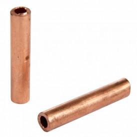 Гильза ГМ 6-4  (6 мм² - Ø 4 мм) (в упак. 10 шт.) REXANT