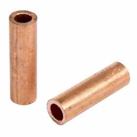 Гильза ГМ 16-6  (16 мм² - Ø 6 мм) (в упак. 5 шт.) REXANT