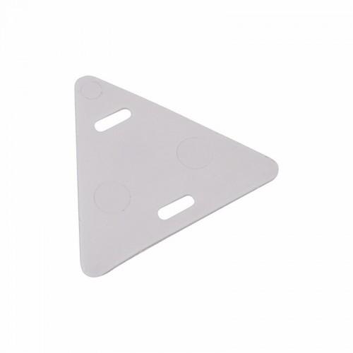 Бирка кабельная «У-136» (Треугольник) белая (100 шт./уп.) REXANT