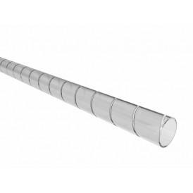 Кабельный спиральный бандаж REXANT, диаметр 15 мм, длина 2 м (SWB-15), прозрачный