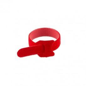 Хомут–липучка многоразовый 150х12 мм, красный (упак. 12 шт.) REXANT