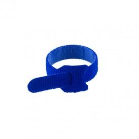 Хомут–липучка многоразовый 150х12 мм, синий (упак. 12 шт.) REXANT