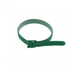 Хомут–липучка многоразовый 320х14 мм, зеленый (упак. 12 шт.) REXANT