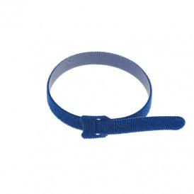Хомут–липучка многоразовый 320х14 мм, синий (упак. 12 шт.) REXANT