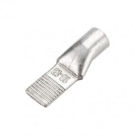 Наконечник штифтовой медный луженый НШМЛ 10-5,5х13 (10 мм² - Ø5,5мм) (в упак. 5 шт.) REXANT