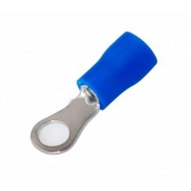 Наконечник кольцевой изолированный ø 4.3 мм 1.5-2.5 мм² (НКи 2.5-4/НКи2-4) синий REXANT